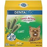 Pedigree Dentastix Toy/Small Dental Dog Treats Fresh Flavor, 12.66 Oz. Pack (51 Treats), Makes A Great Holiday Dog Gift