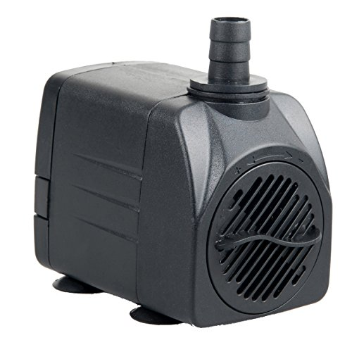 Pawfly 400 GPH Submersible Pump UL400 Quiet Indoor Outdoor Water Pump for Fish Tank Garden Fountain Pool Aquarium with…