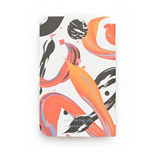 Word. Notebooks Artist - Velvet Spectrum (3-pack) Photo #5