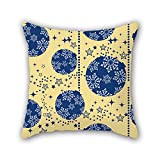 PILLO 18 x 18 inches / 45 by 45 cm christmas throw pillow covers,twice sides is fit for drawing room,sofa,dinning room,couch,gf,bench