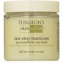 Surgeon's Skin Secret One Step Manicure/Pedicure, Lemon, 4 Ounce