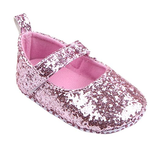 Baby Shoes, Mchoice Toddler Girl Soft Sole Crib Shoes Sequins (Womens Snow Walker)