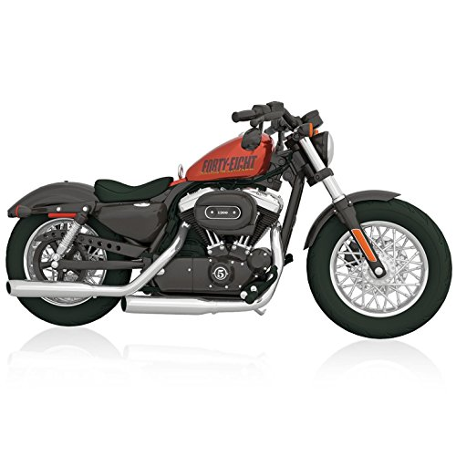Harley Davidson 2014 Sportster Forty Eight Motorcycle Ornament 2015 Hallmark