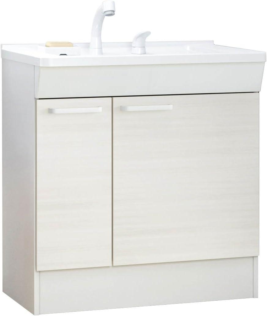 TOTO 洗面化粧台(KCシリーズ) 間口750 片引き出し ルースホワイトペア LDCL075BJGEN1C