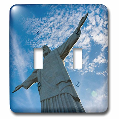Danita Delimont - Religion - Statue of Christ the Redeemer on Corcovado, Rio de Janeiro, Brazil - Light Switch Covers - double toggle switch (Corcovado Christ Redeemer Statue)