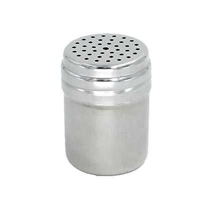Youmu 2pcs Cocina de salero y pimentero de acero inoxidable ...
