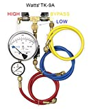 Watts TK9A Backflow Test Kit Equipped with Free Line Pressure Gauge