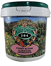 Gaia Green 2-8-4 Power Bloom - great for bigger flowers, more tomatoes, and healthier plants