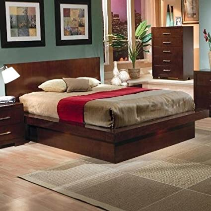 Awesome Coaster Home Furnishings Jessica Collection Contemporary Style California King  Size Platform Bed