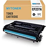 MYTONER Compatible Toner Cartridge Replacement for HP 37A CF237A (Black,1-Pack) for HP Laserjet Enterprise M607n M607dn M608n M608dn M608x M609dn, HP Laserjet Enterprise MFP M631 M632 M633