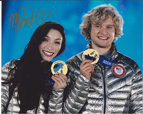2014 Olympic Gold Medal - Meryl Davis Signed Sochi 2014 Olympics Gold Medal 8x10 Photo - Autographed Olympic Photos