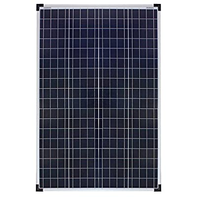 Richsolar 100 Watt Polycrystalline 100W 12V Solar Panel High Efficiency Poly Module RV Marine Boat Off Grid