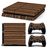 Cheap Gam3Gear Vinyl Sticker Pattern Decals Skin for PS4 Console & Controller- Wood V2