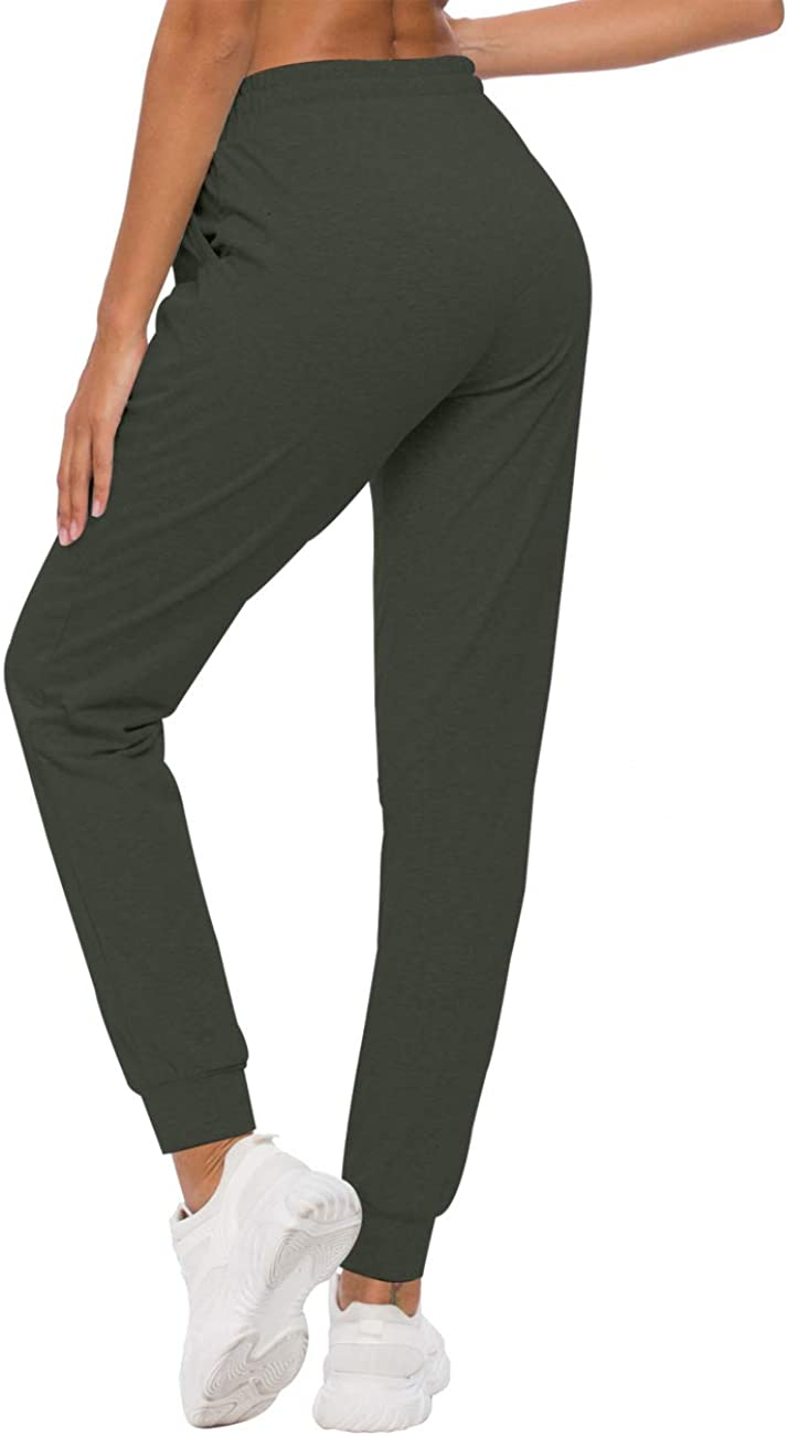 Amazon.com: ChinFun Women's Active Yoga Pants Workout Sweatpants Running  Joggers Activewear with Deep Pockets: Clothing