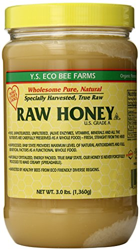 (YS Eco Bee Farms RAW HONEY - Raw, Unfiltered, Unpasteurized - Kosher)