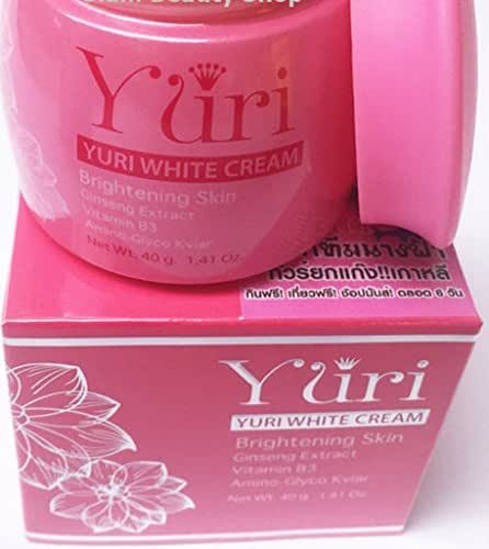 3 Pack New-Yuri-White-Cream-Ginseng-Extract-Brightening-Skin-Whitening-Body-Gluta