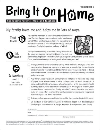 Bring It On Home: Connecting Parents, Kids, and Teachers: Search ...