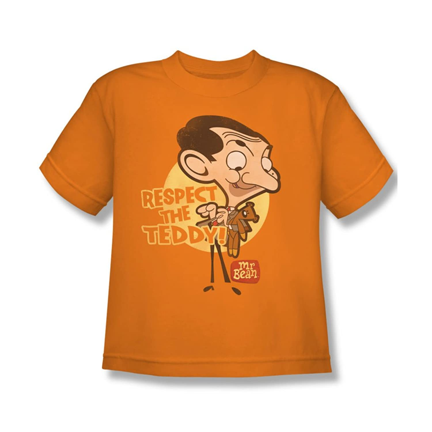 Mr Bean - Youth Respect The Teddy T-Shirt In Orange