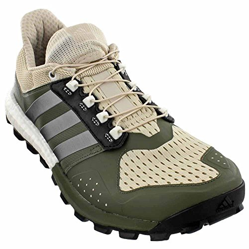 Adidas Performance Mens Raven M Trail Runner Chiaro / Marrone / Neo Ferro Met. Base Verde S