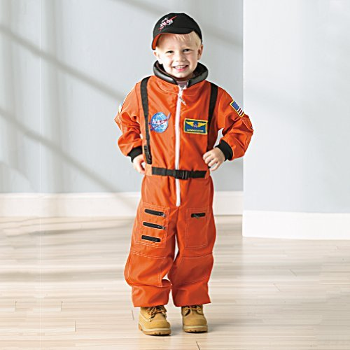 Smithsonian Child's Astronaut Suit (Youth medium) (Orange Nasa Flight Suit)