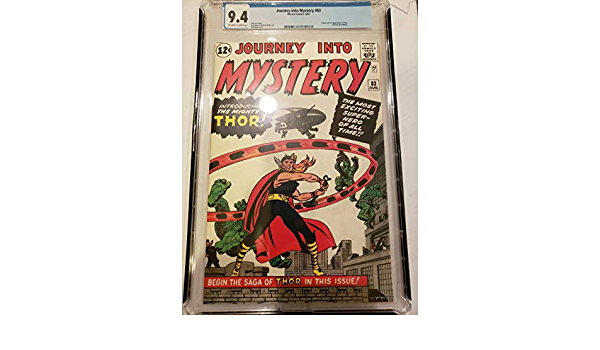 """JOURNEY INTO MYSTERY #83 COMIC BOOK COVER 11/""""x17/"""" POSTER PRINT"""