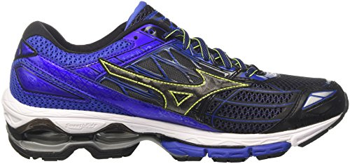 Mizuno Blackblackdazzlingblue Bleu 19 Homme Wave Creation Running Chaussures Multicolore de wFrwTqOZ