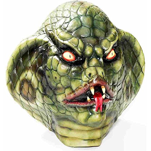 Lizard Deluxe Latex Adult Mask (Reptile Mask)