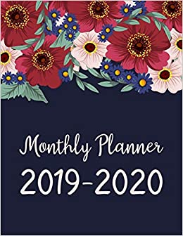 December 2020 Calendar Cut Monthly Planner 2019 2020: January 2019   December 2020 Monthly
