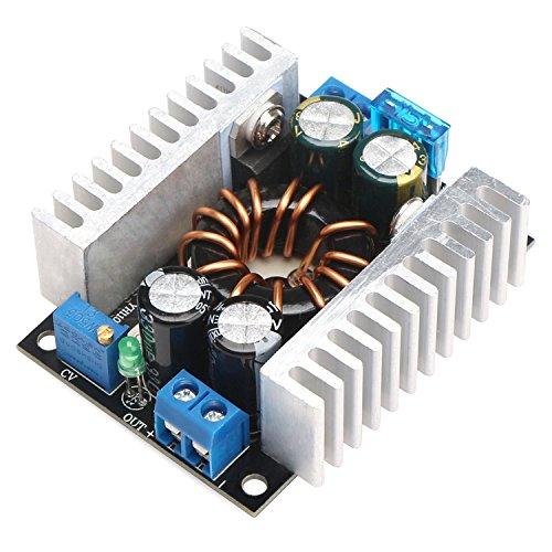 DROK 150W DC Boost Converter Power Module Voltage Regulator Board 10-32V/8-16V to 8-46V 12/24V Step-up Volt Inverter Controller Stabilizer for Car Automotive Vehicle Motor (Neon Regulator)
