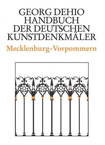 Handbuch der Deutschen Kunstdenkmäler, Mecklenburg-Vorpommern (Dehio - Handbuch der deutschen Kunstdenkmäler)