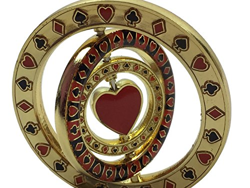 Triple Spinner (with Heart in center) Poker Weight