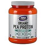 NOW Sports Organic Pea Protein Powder, 1.5 Pound