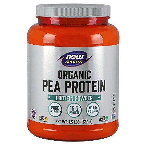 , Organic Pea Protein Powder, Unflavored, 1.5-Pound ()