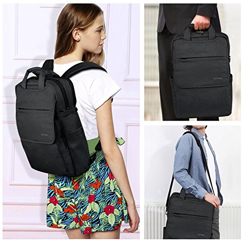 kuprine 15 6 travel business slim computer laptop backpack. Black Bedroom Furniture Sets. Home Design Ideas