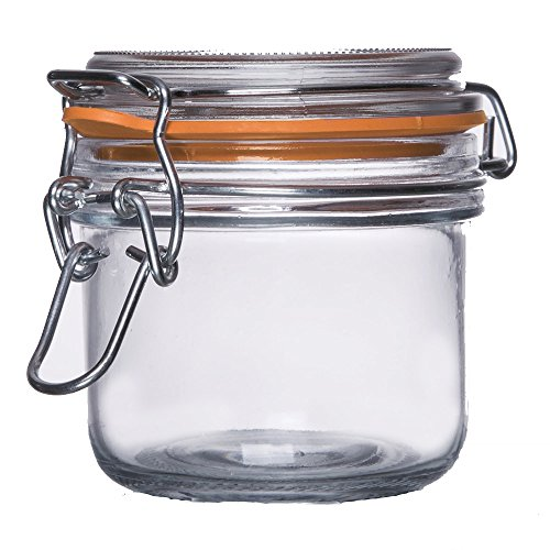 small airtight glass jar - 1