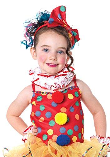 Leg Avenue Children's Circus Clown Costume, Multicolor, Medium - Circus Girl Costumes