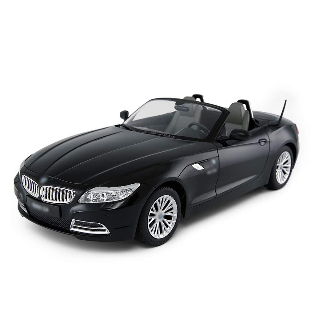 DUWEN Modello di Auto Sportiva di deriva per Auto Giocattolo di plastica di Controllo remoto Auto per Bambini (colore   Nero)