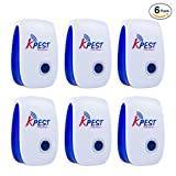 Kpest Ultrasonic Pest Repeller, Electronic Plug In repellent indoor for insects,Mosquitoes, Mice, Spiders, Ant, Rats, Roaches, bugs, Non-toxic Eco-Friendly, Humans & Pets Safe