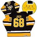 Jaromir Jagr Pittsburgh Penguins Autographed 1992 Stanley Cup Hockey Jersey - Autographed Hockey Jerseys