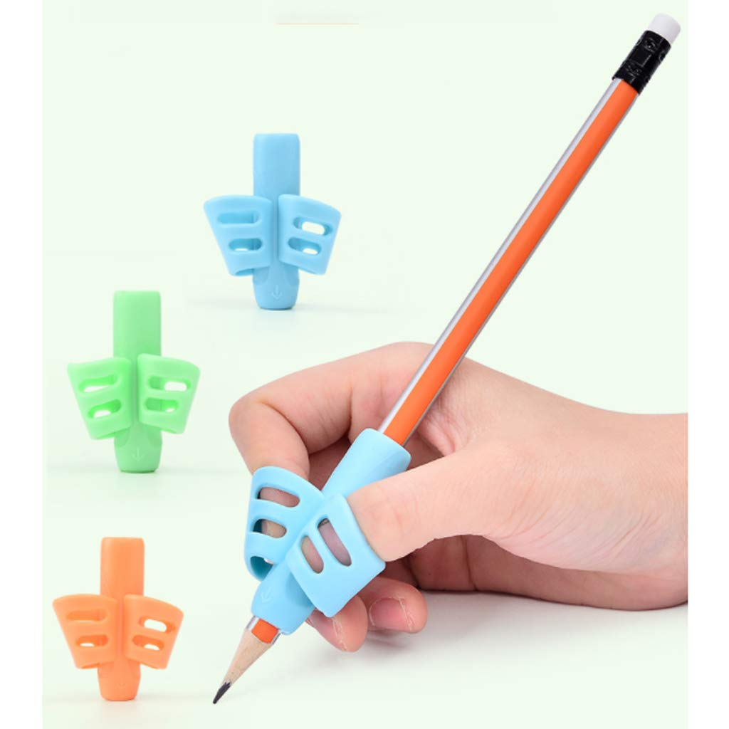 Pen Gripper Correction Student Cute Orthosis Writing Orthosis Take Pen Grab Pen Baby Learn to Write Correction Grip Pen Posture by QIYINGYING (Image #3)