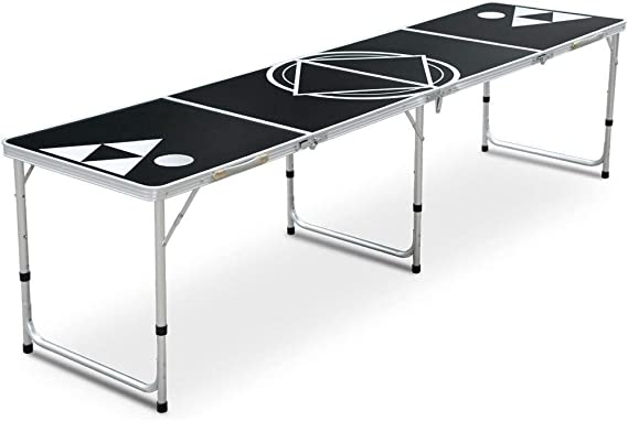 biggroup Mesa de ping-pong plegable resistente de 8 pies para ...