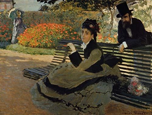 Claude Monet Camille Monet on a Garden Bench Metropolitan Museum of Art, Manhattan, New York, New York. 30