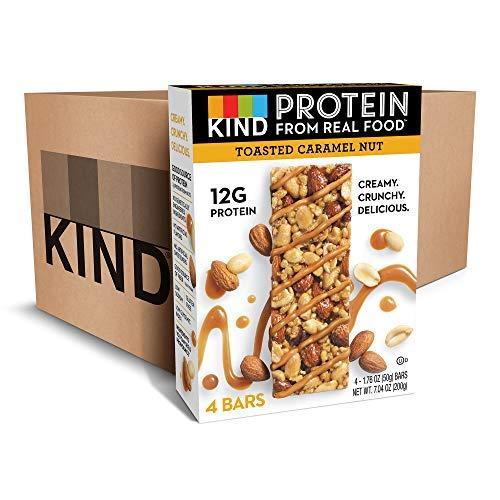KIND Protein [並行輸入品] KIND Bars Gluten Toasted Caramel Nut Gluten Free 12g Protein1.76oz 24 count [並行輸入品] B07N4NHJXJ, ココロード:c6762b42 --- ijpba.info