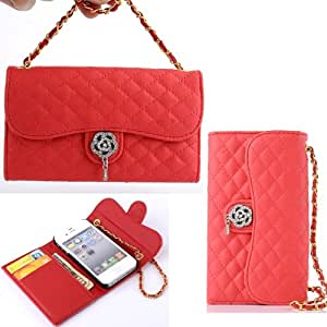 For iPhone 5 5S,5S Cases,5S Leather,iPhone 5 Flip Case,iPhone 5S Wallet Case,iPhone 5 5S Phone Case,Candywe Luxury Book Style Flip Leather Case Cover For iPhone 5 5S 003