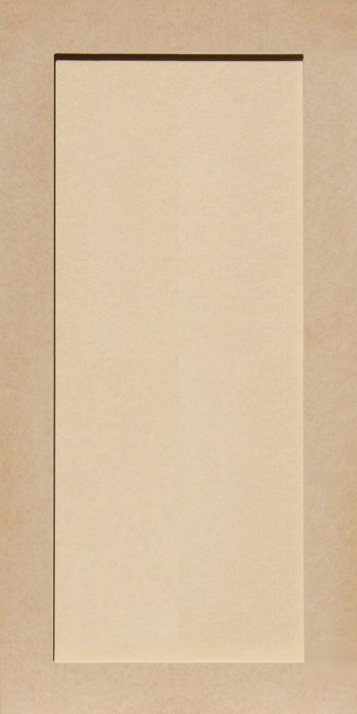 Unfinished Shaker Cabinet Doors in MDF by Kendor, 30H x 15W Kendor Wood Inc.