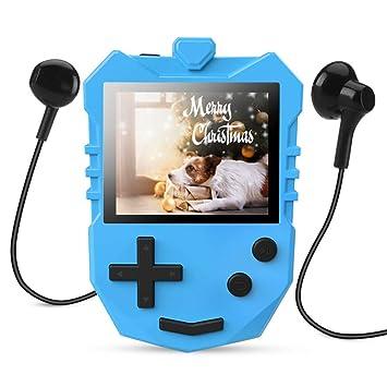 8 GB MP3 Player für Kinder, tragbarer 1,8 TFT: Amazon.de: Elektronik