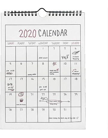Calendario De Septiembre 2019 Para Imprimir Animado.Amazon Es Calendarios De Pared Oficina Y Papeleria