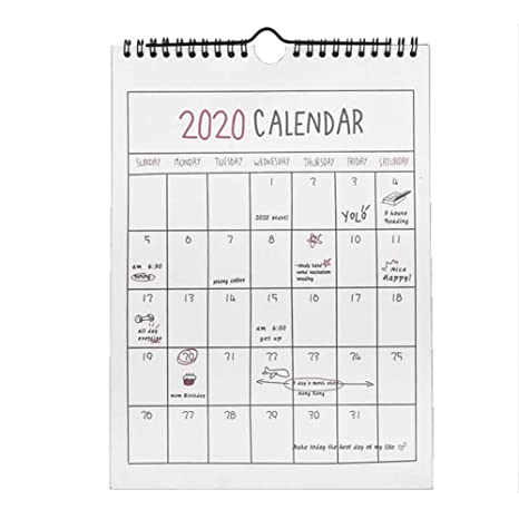 Family Home Planner 2019 2020 Calendario de Pared. Comienza ...