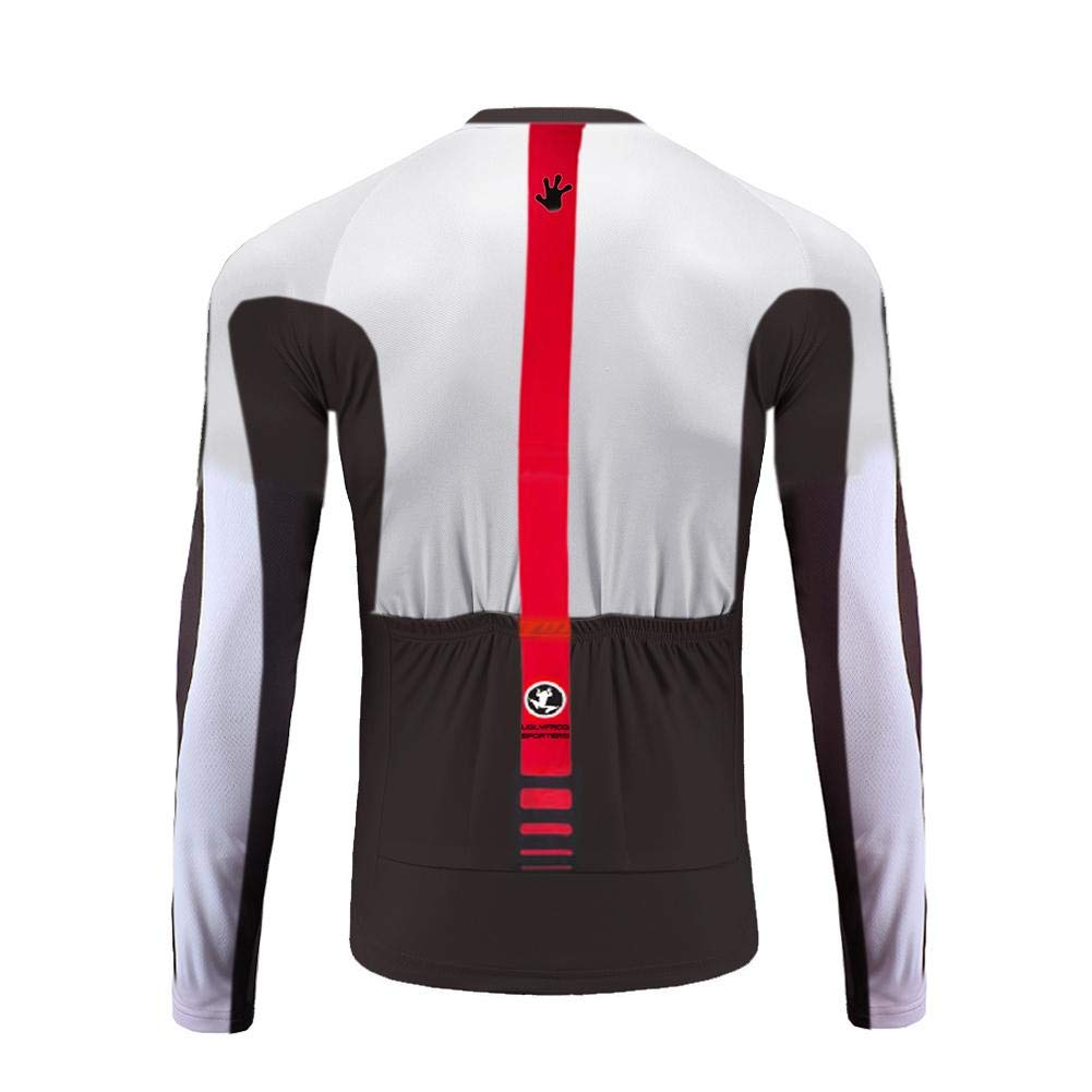 Uglyfrog Men Classic Cycling Jersey Winter Thermal Bike Top + Bib Tights Set  larger image dc711758f