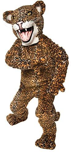 Jaguar Mascot Costume - Tiger Mascot Costume Suit Up